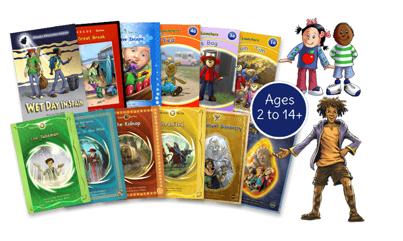 Phonic Books range