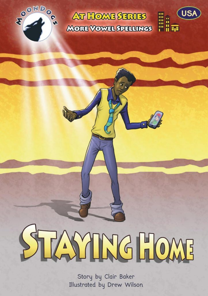 Moon Dogs Staying Home USA Cover